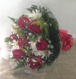Foto2 - Buquê 06 Rosas Nacionais