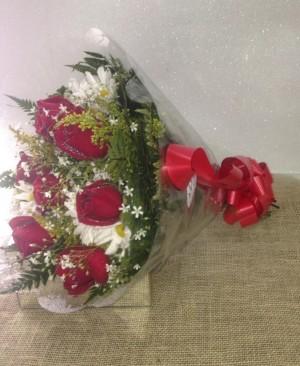 Foto3 - Buquê 06 Rosas Nacionais