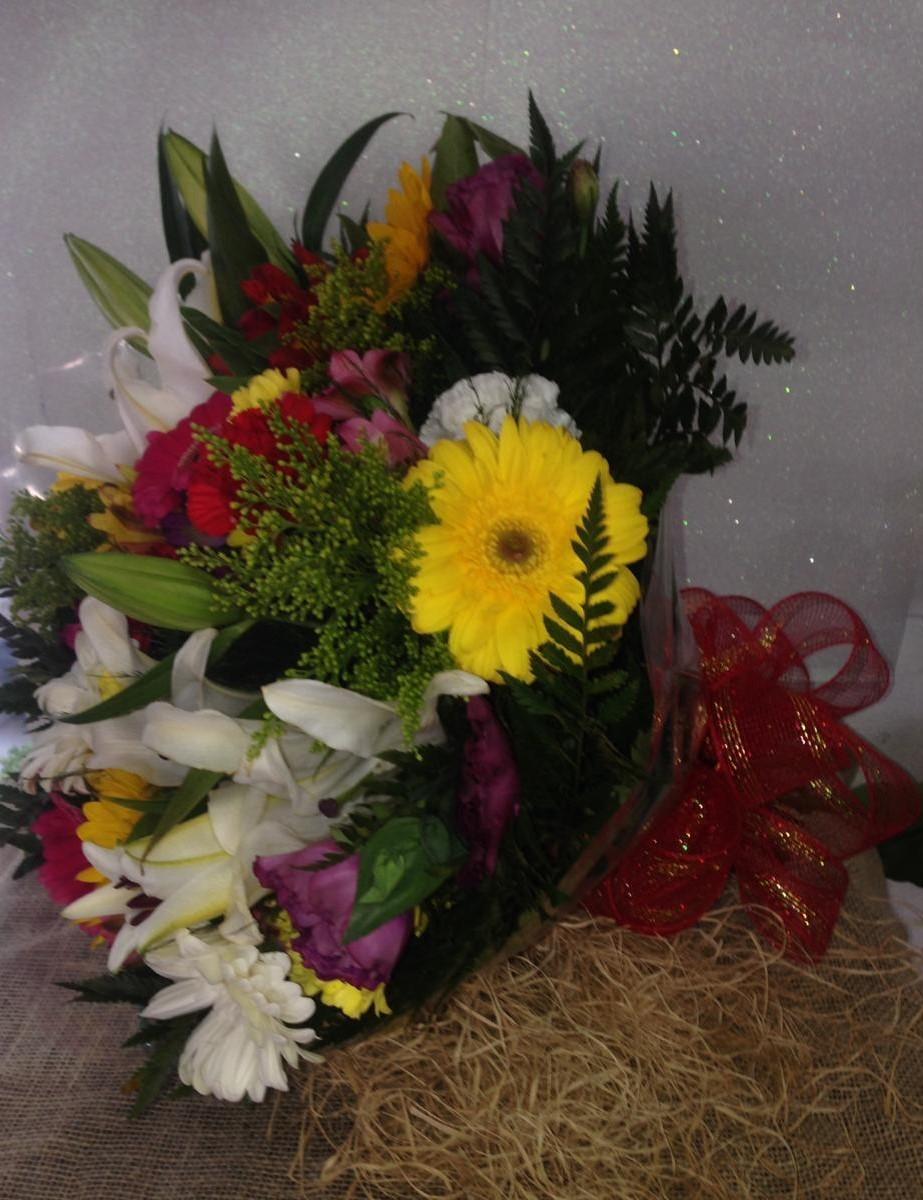 Foto5 - Buquê Tropical Flores Selecionadas