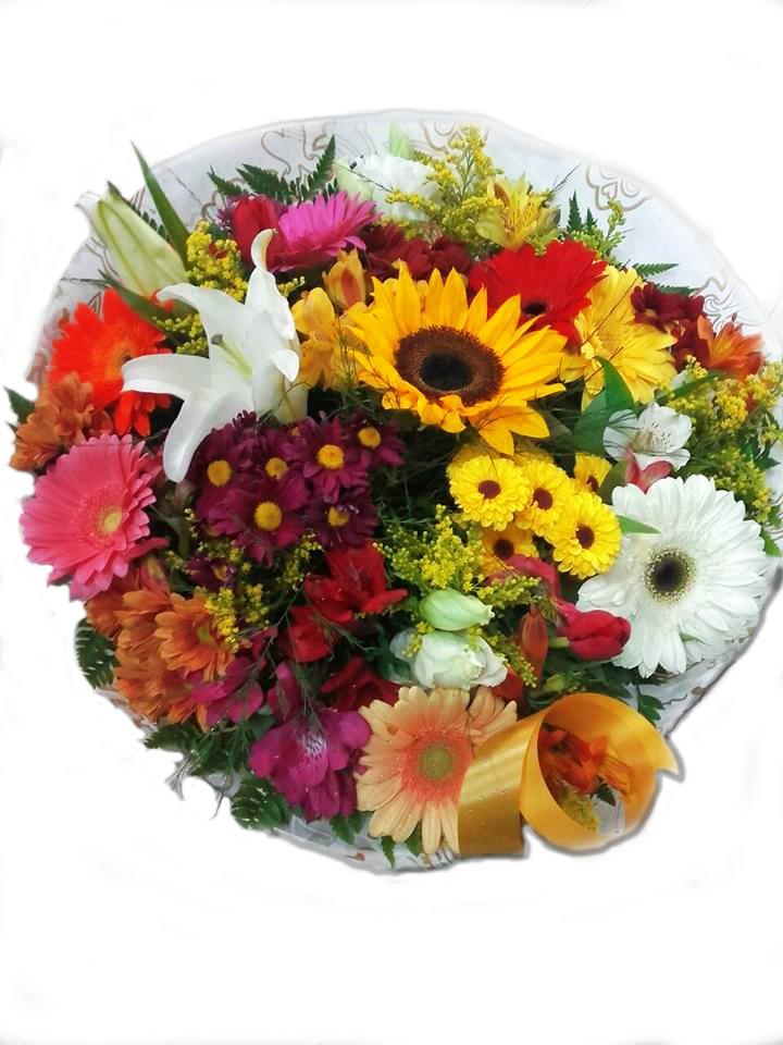 Foto 1 - Buquê Tropical Flores Selecionadas